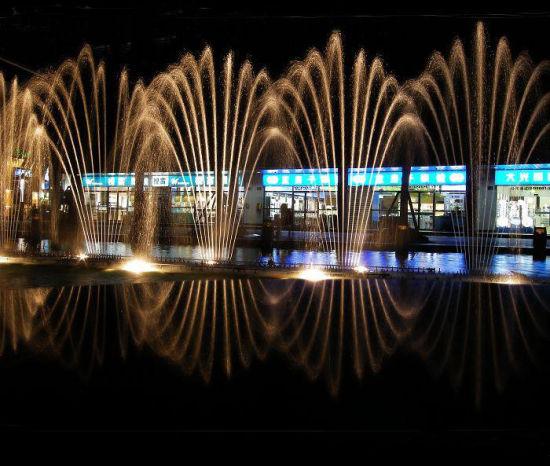 天一广场音乐喷泉