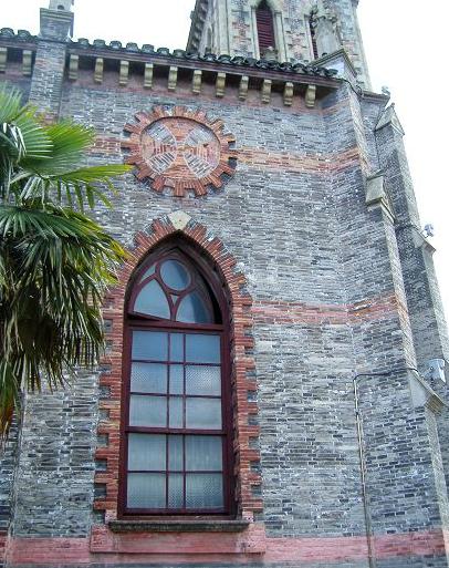 天主教堂侧面