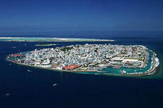 马尔代夫的短命岛