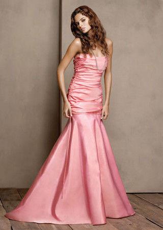 鲜艳糖果色儿的礼服多种风格混搭伴娘装