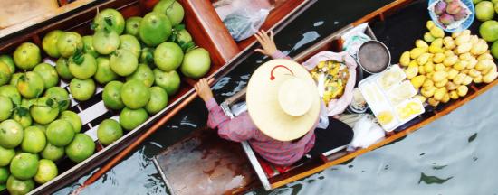 体验水上市场