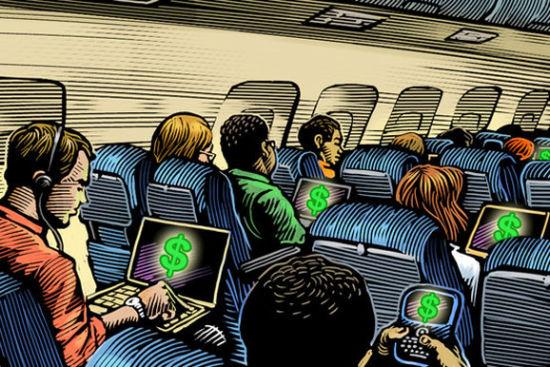国航开通机上wifi 盘点提供无限的航空公司
