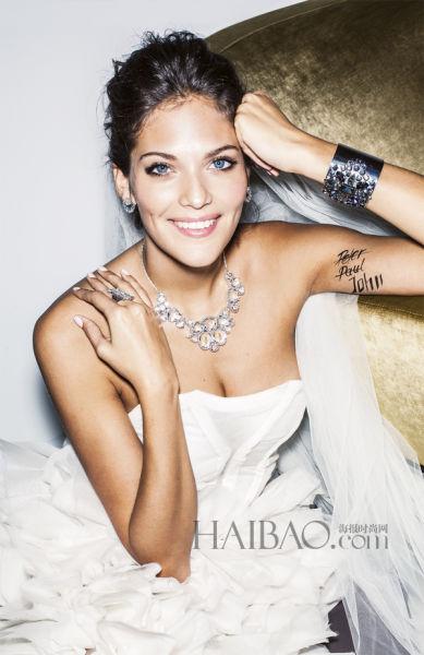 新娘配饰敲响2015春夏婚礼的钟声带来时尚之选