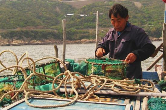 嵊泗列岛出海捕鱼