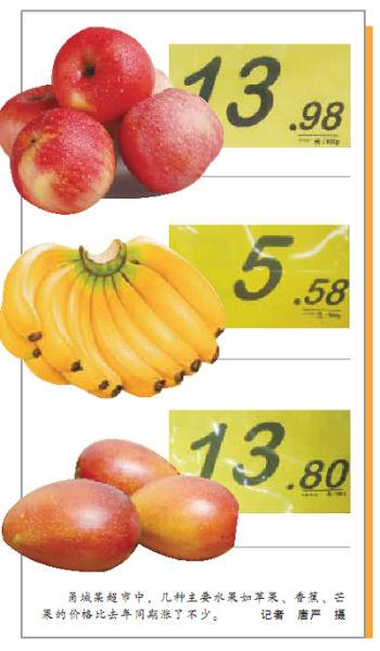 甬城今春水果价格步步走高