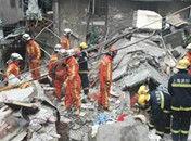 上海老式居民楼5月4日凌晨倒塌