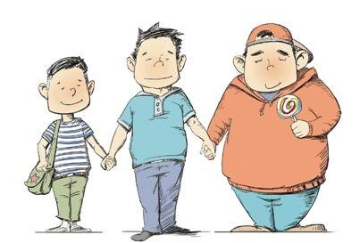 10岁男孩因肥胖患上糖尿病