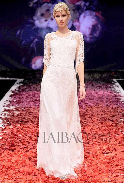 新鲜创意的婚纱不可撼动的王者新娘嫁衣之选