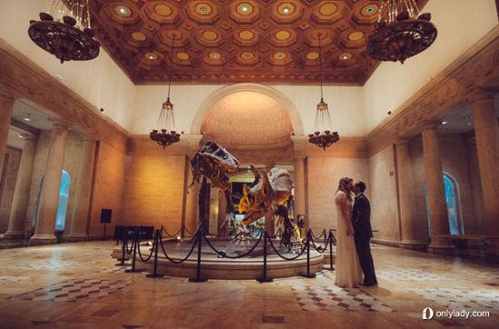 奇葩年年有自然历史博物馆的另类婚礼