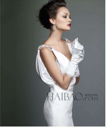 2014秋冬本土品牌带来优雅迷人的定制结婚礼服