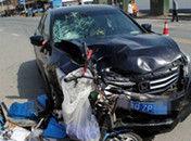 醉驾司机撞死六旬环卫工人被路人擒获