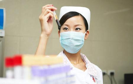 护士工作照。