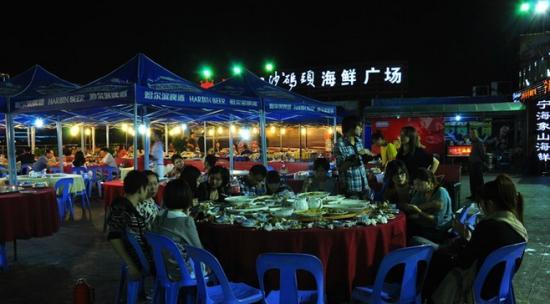 白沙码头海鲜广场