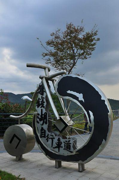 骑行东钱湖