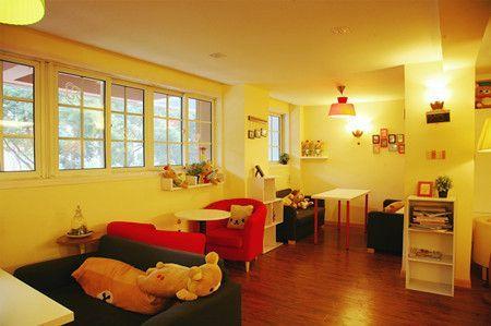 kuma island轻松熊主题咖啡馆