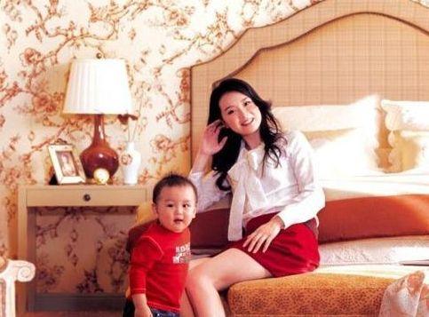 王艳和儿子