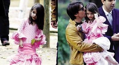 汤姆克鲁斯和女儿