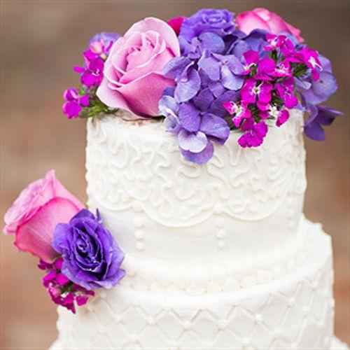 结婚应该有滋有味艺术感十足的婚礼蛋糕
