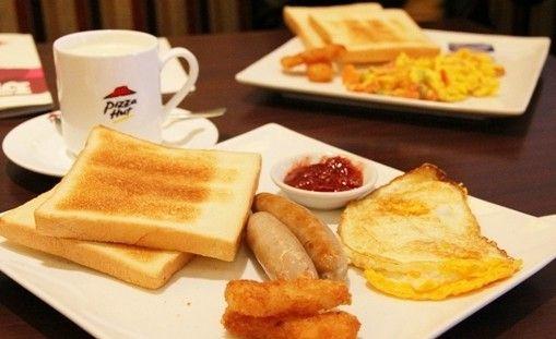 必胜客在甬推早餐