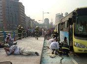 四川宜宾公交车发生爆燃