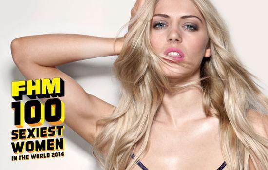 组图:2014《FHM》全球百位性感女星排名出炉