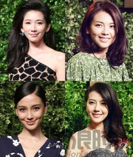 组图:林志玲vs刘涛众女星同走红毯各领风骚