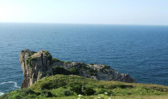 象山最东南的岛屿,中国领海线基点所在一一渔山列岛