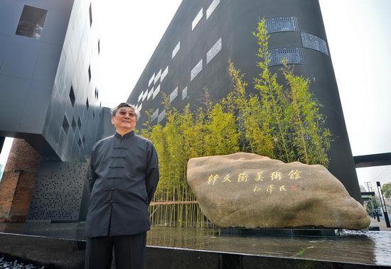 韩天衡美术馆开馆投资过亿堪比黄金的艺术