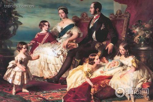 重现百年童话维多利亚女王的皇室婚礼(组图)