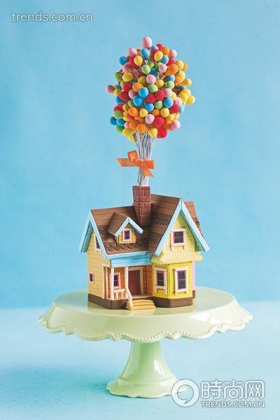 霜糖童话蛋糕开启你的梦幻奇妙婚礼(组图)