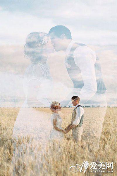 360度玩转婚纱照拍摄技巧宛若梦境的双重曝光