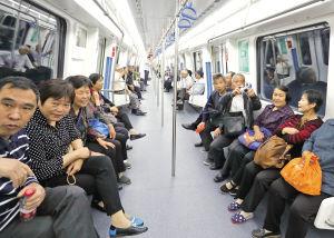 市民试乘地铁