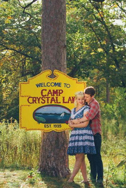 实拍加拿大情侣拍惊悚订婚照为忠贞不渝的爱情