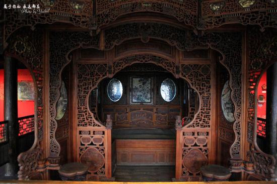 古朴典雅的内室景象