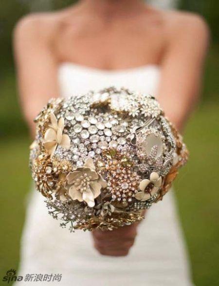 奇葩新娘捧花来袭为婚礼更添新意