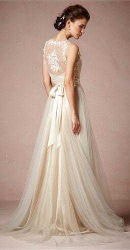 不同材质穿出不同个性穿对婚纱助你变身靓新娘