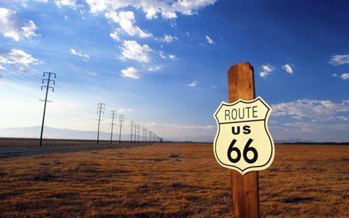 传说和开拓的印记美国66号公路穿越行纪