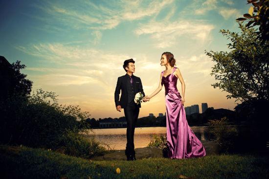 三个技巧让夜景婚纱照美到极致