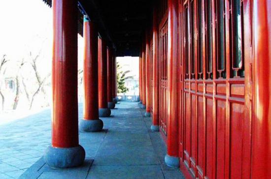 大乘寺过廊
