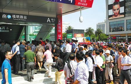 端午小长假宁波地铁客流破32万 资料图