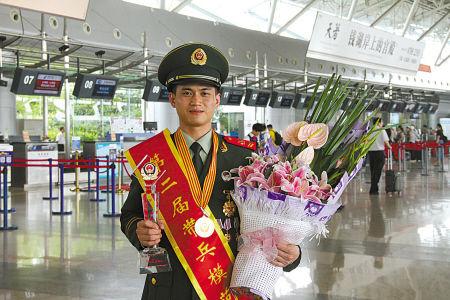 蔡伟肖回到宁波。