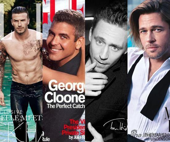 和女人抢饭碗登上女性时尚杂志封面的男人
