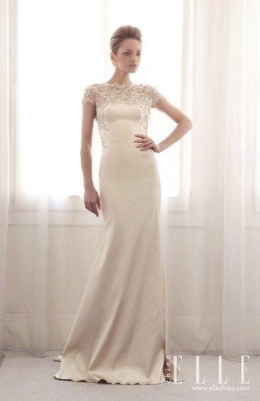 独特美感的GemyMaaloufBridal2014婚纱礼服