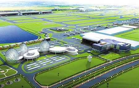 杭州湾新区通航机场效果图