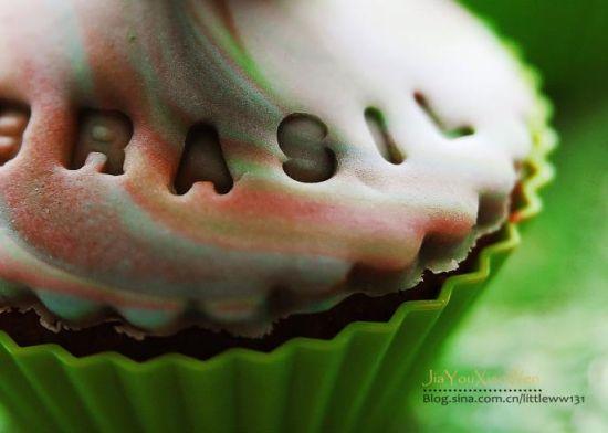 翻糖麦芬蛋糕』(2)