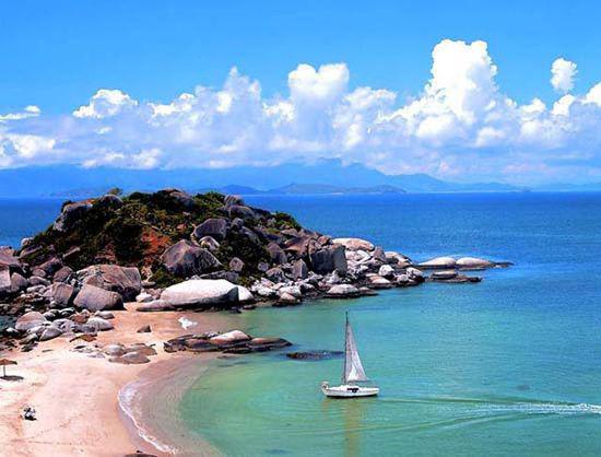惠州巽寮湾:海中畅泳