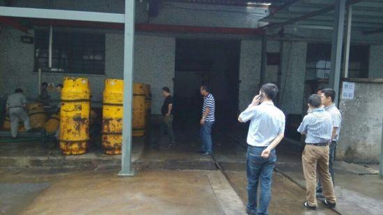北仑一家公司发生瓶装液氨泄漏事故 已妥善处理
