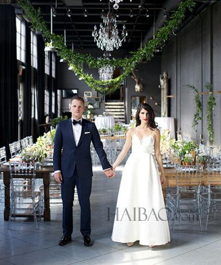 古董店里的异国真人婚礼多肉植物做伴手礼