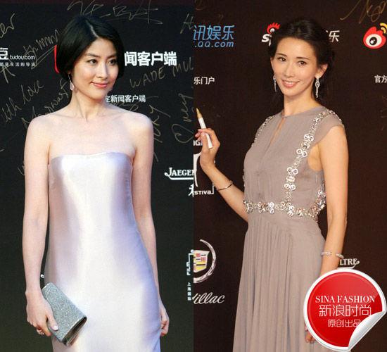 组图:陈慧琳VS林志玲40岁女星红毯美肌大PK