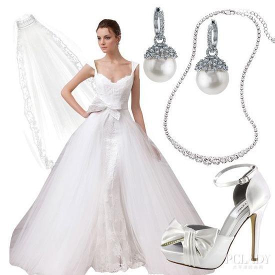大日子里的婚纱格调网罗六种完美呈现